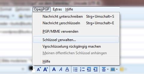 enigmail konfiguration3