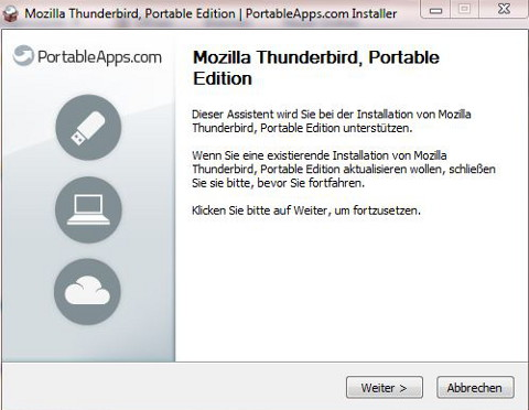thunderbird assistent